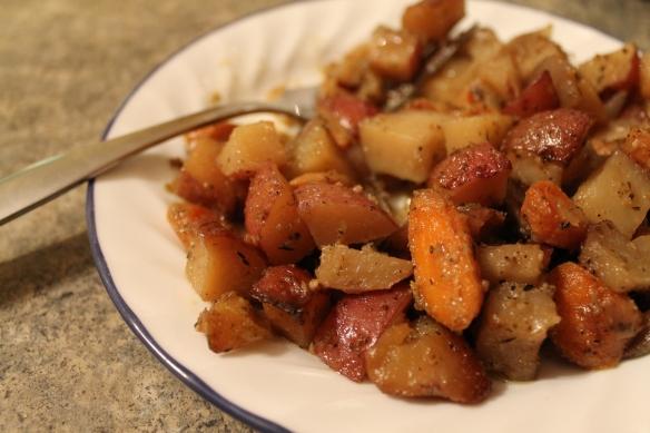 Roasted Redskin Potatoes2