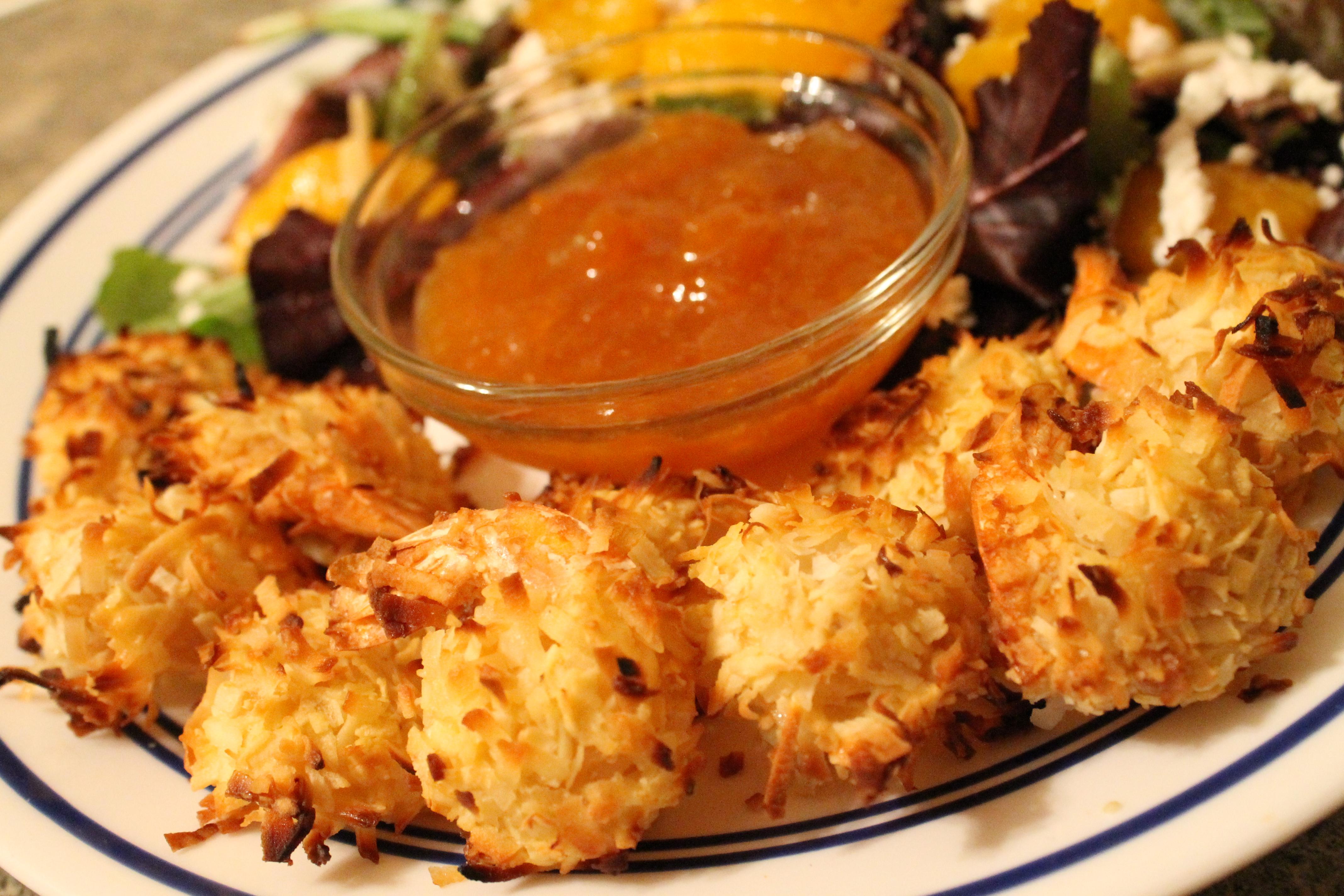 Crispy Baked Coconut Shrimp | foreverfeeding