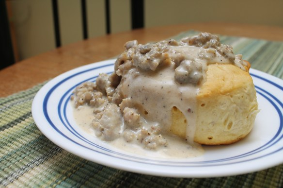 Sausage Gravy Side View 2