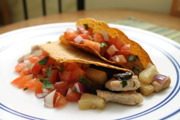 Hawaiian Pork Tacos