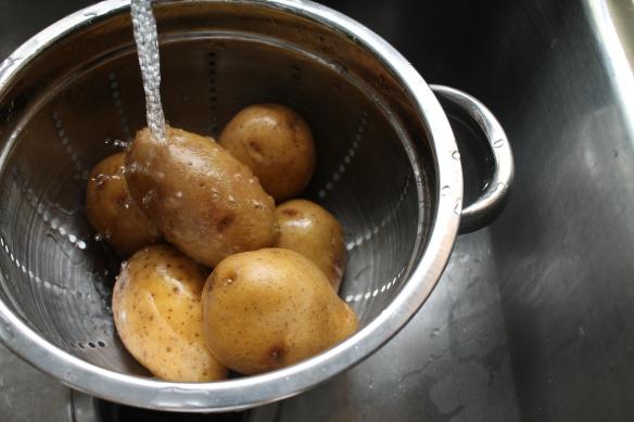 Wash the Potatoes