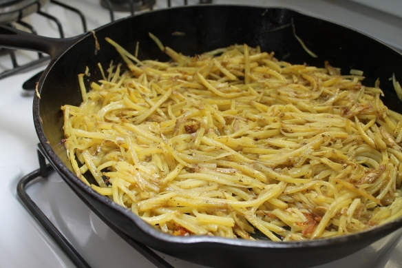 Let the Hash Browns Cook