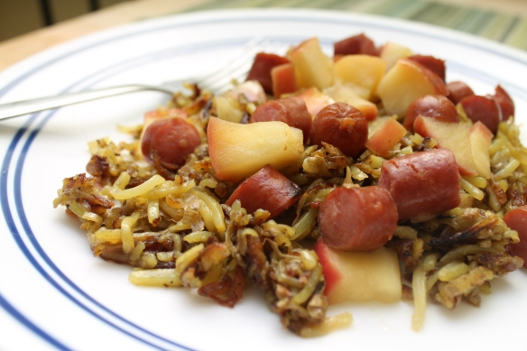 Apple Sausage Hashbrowns