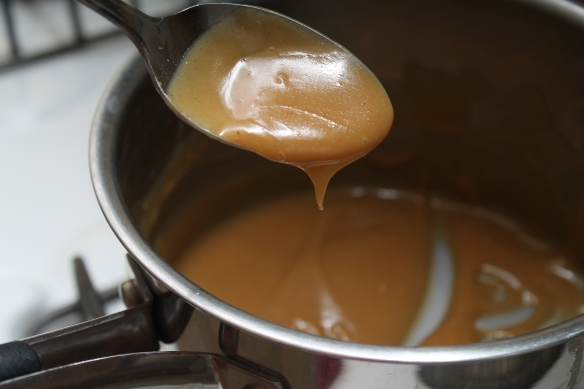Finished Peanut Butter Sauce