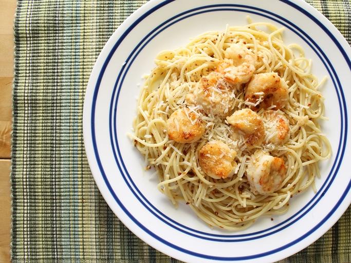 Pasta aglio, olio, e pepperoncino